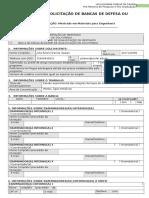 Formulário de Solicitação de Bancas v2019