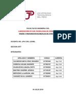 LAB2  TECNOLOGIA DE CONCRETO