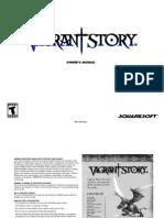(PSX)Vagrant Story Manual