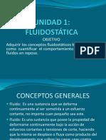 UNIDAD 1 Fluidostática