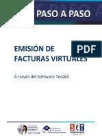 Guias Paso a Paso - Emisión de Facturas Virtuales