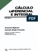 Cálculo Diferencial e Integral II - Armando Righetto e Antonio Sérgio Ferraudo