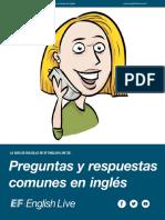 Preguntas y Respuestas Comunes en Inglés