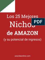 Los 25 mejores nichos de amazon
