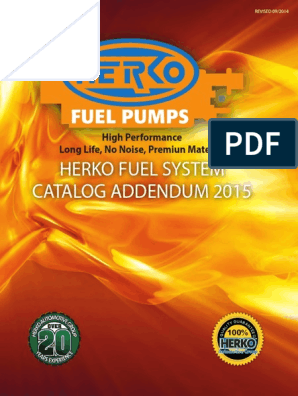Herko Fuel Pump Module 184GE For Dodge 3.9L 5.2L 5.9L 8.0L   1994-1995