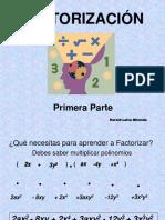 Factorizacion de Expresiones Algebraicas