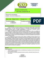 H. Argentina III módulo