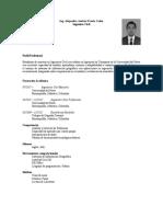 CV Alejandro Urzola