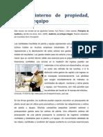 R2 Control Interno de Propiedad Planta y Equipo
