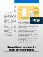 Separation of Mixtures Diff Techniques