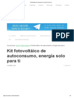 fotovoltaico de autoconsumo