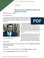 ConJur - STJ anula acórdão que validava quebra de sigilo de advogada.pdf