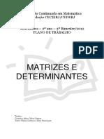 Matrizes e Determinantes