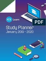Ics Learn 2019 Study Planner