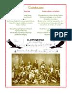 Condor Pasa Historia-breve