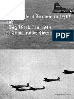 Comparison Battle of Britain and Big Week
