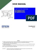 EPSON SC F6000 SC B6000 Series Printer English Service Manual Direct Download