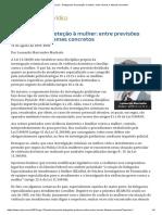 ConJur - Delegacias de Proteção à Mulher_ Entre Normas e Dilemas Concretos
