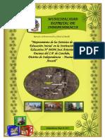 PIP SS. I.E.I. Nº 86096 José Encinas Presentado 30-05-16