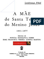 A Mãe de Santa Teresa Do Menino Jesus