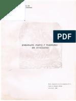 Embarazo, Parto y Puerperio en Ayacucho.