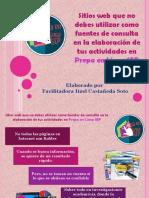 Sitios web que no debes utilizar como fuentes de consulta en la elaboración de tus actividades en Prepa en Línea SEP.pdf