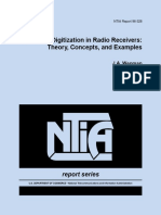 RF and if Digitization in Radio Receivers Theory, Concepts and Examples