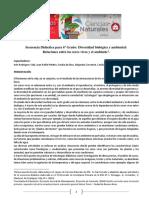 6º. Secuencia EM. Diversidad Ambiental 2019