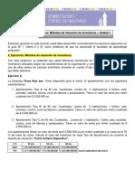 Taller Metodos de Valuacion de Inventarios - Act. 1Und.