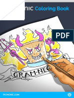 Picmonic Coloring Book