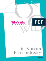 Who's Who in Korean Film Industry - Directors