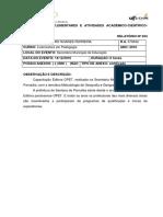 Atividades Complementares e Atividades Acadêmico 2019 Final