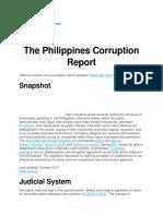 The Phil Corruption Report