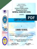 Certificate Template (Character Award) v.1