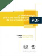 La diasdoralogía como una teoría del fenómeno de la corrupción en México