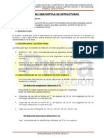 5. Estructuras-memoria Descriptiva