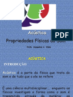 Acustica Propriedades