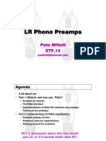 LR Phono Preamps