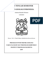 UTS Geologi  Indonesia 2019