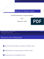 Financierización en América Latina
