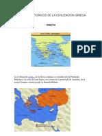 Periodos Historicos de La Civilizacion Griega