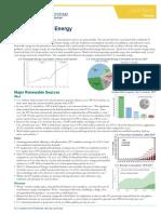 U.S. Renewable Energy Factsheet CSS03-12 e2018