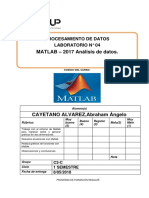 Lab 04 - Matlab - Analisis de Datos