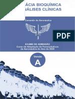 Farmácia Bioquímica (BIO) Ou Análises Clínicas Versao A