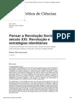 Pensar a REV Bolchevique
