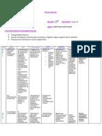 Plan Anual 2018 Naturales y Sociales