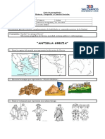 Guía de historia y Geografía tercero básico