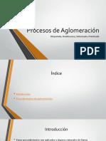 Procesos de Aglomeración