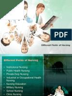 100031741 Different Fields of Nursing
