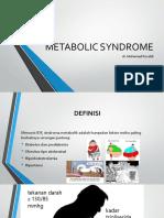 Metabolic Syndrome Penyuluhan Pabrik